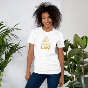 Buddha LUV – Short-Sleeve Unisex T-Shirt