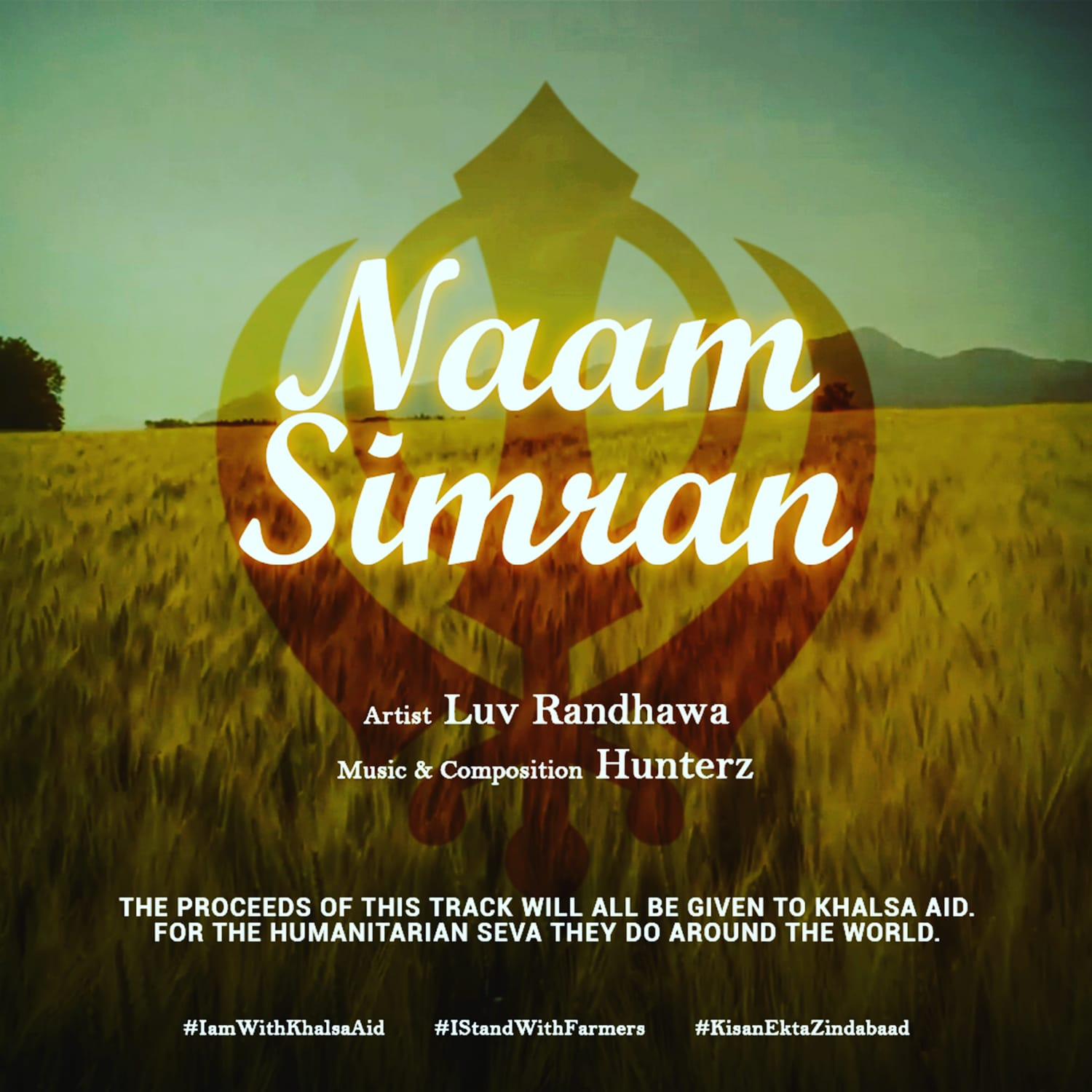 Luv Randhawa, releases a new track in support people, dealing with Mental Health issues, during these Pandemic Times. This soothing record entitled NAAM SIMRAN. Please enjoy..